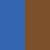 brazowo-niebieski